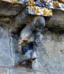 Migron – Saint-Nazaire (Martin M. Miles (on the road again...)) Tags: migron saintonge corbel animalmusician horn flute monkey ape stylesaintongeais charentemaritime 17 nouvelleaquitaine charente 16 france