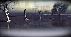 Retrospect- Bending to the will of change (Chioma Namiboo Jinn) Tags: secondlife secondlifeexploration secondlifephotography sl slwindlight slphotography giantess giant rain blight retrospect sim windlight story storm art artsinsecondlife arts artinstallation cammino vivo capovolto lightbox inspiredbytorley torleytutorials