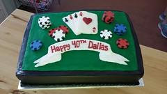 poker (backhomebakerytx) Tags: birthday cake poker chips cards 40th backhomebakery