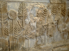 Khorsabad Palace, Baghdad archaeological museum   (24).jpg (tobeytravels) Tags: iraq archaeological museum baghdad assyrian hunting palace sargon11