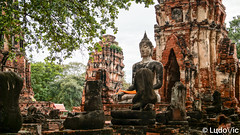 Ayutthaya - 17 (Lцdо\/іс) Tags: ayutthaya travel city citytrip old oldcity town bangkok train thailande thailand thailandia thai siam lцdоіс capital birman historic temple buddha buddhisme boudhisme bouddha