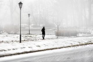 walking in the fog....