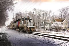 NJT train #1001 @ former Montville NJ station stop. (bozartproductions) Tags: montville new jersey transit diesel emgine engine lackawanna railroad station