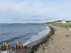 Coastal View from Ardersier, near Fort George, Oct 2015 (allanmaciver) Tags: moray firth ardersier shore coastal walk sand shell stones water waves pleasant weather allanmaciver