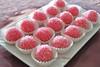 Dolcini alle mandorle con alchermes (Le delizie di Patrizia) Tags: dolcini alle mandorle con alchermes le delizie di patrizia ricette dolci pasticceria secca