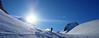 Ovronnaz Down 03 (David Roberts 01341) Tags: skitouring skiderandonnee offpiste horspiste switzerland suisse valais snow winter alps mountains cloudinversion
