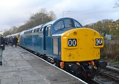 Class 40 - 40135 (Will Swain) Tags: east lancs railway scenic railcar weekend 4th november 2017 elr train trains rail railways transport travel uk britain vehicle vehicles country england english north west lancashire class 40 40135