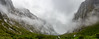 Road to Oblivion (Ron Scubadiver's Wild Life) Tags: new zealand south island mountain landscape fog nikon 28mm stitched pano waterfall