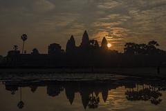 Sunrise at Angkor Wat (ORIONSM) Tags: angkor wat cambodia temple asia hindu buddhist travel sunrise vacation