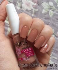 Esmalte Lily Doce, da Drica. (A Garota Esmaltada) Tags: agarotaesmaltada unhas esmaltes nails nailpolish manicure lilydoce drica nude