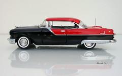 1955 Pontiac Star Chief Custom Catalina Hardtop (JCarnutz) Tags: 124scale diecast franklinmint 1955 pontiac starchief catalina