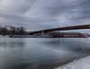 Up the River (kendoman26) Tags: hdr nikhdrefexpro2 barge rivertraffic river illinoisriver fuji fujifinepix fujifinepixf750exr