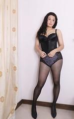 my body suite (Rafia T) Tags: androgyny androgynous sissy corset tg ts tv tgirl tranny transexual transgender transsexual transvestite genderbender gurl rafiat m2f mtf makeup rafia rafiatg feminization