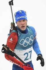 Biathlon - Sprint hommes (France Olympique) Tags: 10km 2018 biathlon coree games jeux jeuxolympiques jo korea men olympic olympicgames olympics olympiques pyeongchang south sport sprint sud winter coréedusud