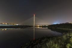 Reflections at the Northern Spire (Mark240590) Tags: uk england northeast sunderland reflection bridge