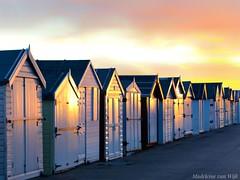 What a sunrise 😍 (MadeleineVanWijkPhotography) Tags: reflection sunrise boathouse beach