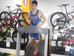 Richi Clavería triatlón Indoor team clavería triatlón World 4