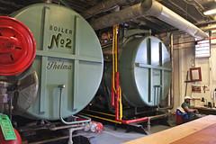 Boiler Room (skipmoore) Tags: nola riverboat boilers boilerroom natchez