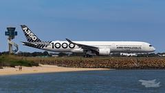 F-WLXV Airbus A35K 34L YSSY-4920 (A u s s i e P o m m) Tags: airbus a35k a3501000 syd yssy sydneyairport aib359 a350xwbtour
