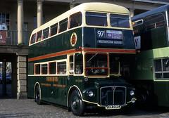 wyks - lte rm2208 piece hall halifax 10-1997 JL (johnmightycat1) Tags: bus aec routemaster london yorkshire