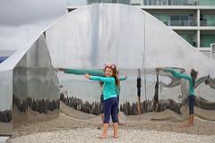 light of the land (Paul J's) Tags: newplymouthcoastalwalkway coastalwalkway newplymouth taranaki girl sculpture lightoftheland howardtuffery