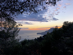 2018 winter on the Riviera [XIII] (Olivier So) Tags: france frenchriviera riviera sunset sky clouds monaco montecarlo