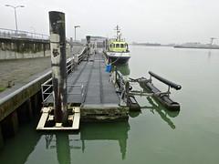 20180112 haven (enemyke) Tags: pixeldiary januari 2018 haven harbour port puerto westerschelde vlissingen veerhaven hoogwater vloed hightide groen green verde zee sea mar maeslant
