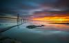 PVG speed (marcolemos71) Tags: landscape tagusriver water pov pvg bridge pontevascodagama sky clouds sunrise longexposure leefilters lisbon marcolemos