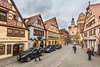 Rothenburg ob der Tauber (Gerd Kohlmus) Tags: beams centre halftimbered historic medieval old people rothenburg sho timber townps wood