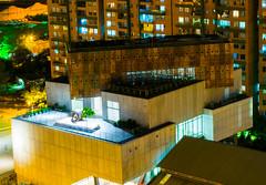 Contraste Noche y día (carlosbenju) Tags: city ciudad largaexposicion luces arquitectura architecture lights paisaje landscape