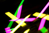 Neon Stick Two (robc19) Tags: light dark colour magenta yellow blur neon abstract sticks lumiere