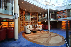 252/365/3539 (February 18, 2018) - Library on the Celebrity Equinox - February 2018