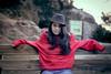 Marta H ®BoniGonzález-17 (boni_villasirga) Tags: retrato portrait ritratto chica girl woman mujer fashion moda outfit beauty rojo red negro black huesca aragón vadiello españa spain