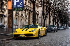 Ferrari 458 Speciale (damien911_) Tags: ferrari 458 speciale v8 supercar paris nikon d750 50mm