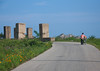 North Korean woman pushing her bicycle in front of anti tank invasion concrete blocks on roadside, Kangwon-do, Kumgang, North Korea (Eric Lafforgue) Tags: adult adults adultsonly asia asianethnicity bicycle blocks colourimage communism concrete copyspace countryroad defensive dictatorship dprk horizontal kangwondo kumgang nk110013 nocar northkorea northkorean oneperson onewomanonly people pillars pushing rural ruralscene tankblock unrecognizablepeople woman women womenonly 北朝鮮 북한 朝鮮民主主義人民共和国 조선 coreadelnorte coréedunord coréiadonorte coreiadonorte 조선민주주의인민공화국 เกาหลีเหนือ קוריאההצפונית koreapółnocna koreautara kuzeykore nordkorea північнакорея севернакореја севернакорея severníkorea βόρειακορέα