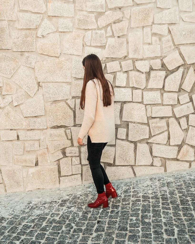 look_botas_vermelhas_vinil_bershka_2