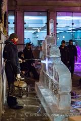 Heating the Ice (kevnkc2) Tags: stdntsdoncooper lightroom pennsylvania winter historic downtown icefest ice sculpture chambersburg nikon d610 franklin county tamron 2470mmg2 sp2470mmf28divcusdg2a032