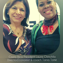 Tania Tome and Costa Rica President Laura Chinchila (mbusinessmozmagazine) Tags: tania tome tânia tomé author music speaker writer leader barack obama international advisor multitaented multitaentosa talentosa talented talent economist award winner best actist philantropist woman money star tvpersonality premiada melhor