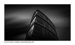 Podbi 344, Hannover (H. Roebke (offline for a while)) Tags: 2018 canon1635mmf28lisiii de canon5dmkiv building germany schwarzweiss gebäude langzeitbelichtung sw stadtansicht podbi blackwhite graufilter nd1000 architecture architektur blacksky hannover longexpo lightroom