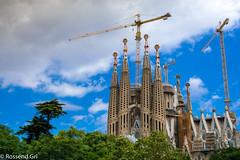 La Sagrada Família - Clouds