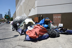 DOWNTOWN_MVB_7851 (CEO_Countywide_Communications) Tags: homelessness homeless c3 city county community skidrowoutreach team skidrow tents encampment los angeles dtla downtown sidewalk