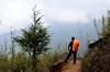 living life in the moments (eyenamic) Tags: trek trekking sandakphutrek sandakphu moments view hillside mountains himalaya walk clouds india nikon d5100