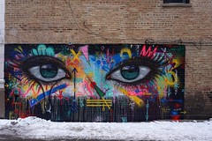 My Dog Sighs (drew*in*chicago) Tags: chicago street art artist graffiti paint painter 2018