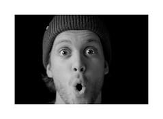 Ooh ! (CJS*64) Tags: d7000 dslr nikon nikkorlens nikkor nikond7000 50mmf18lens 50mmnikkorlens 50mmf18d people portrait blackwhite bw blackandwhite whiteblack whiteandblack mono monochrome face