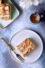 Torta di mele norvegese (Stefania Casali) Tags: food dessert baked homemade pastry gourmet cake plate pancake breakfast freshness sweetpie sweetfood meal strudel snack pastrydough bakery fruit refreshment