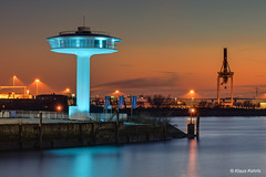 Lighthouse Zero - 14021801 / Explore (Klaus Kehrls) Tags: hamburg hamburgerhafen lighthouse architektur sonnenuntergang abendrot idylle elbe flüsse