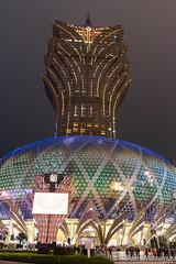 Grand Lisboa (takashi_matsumura) Tags: grand lisboa hotel casino sé macau sar china nikon d5300 nightscape architecture sigma 1750mm f28 ex dc os hsm