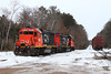 EMD-land (view2share) Tags: ic9565 gtw4616 gp382 gp9r cn canadiannational cold wisconsin wi winter woods northernwisconsin northwood northwoods bradleysub bradley yard junction jct snow snowfall valleyline valleysub february2018 february 2018 february172018 railway railroading railroads rail rails rr railroaders rring roadtrip railroad track transportation tracks transport trains train trackage trees travel freight freighttrain freightcar freightcars terminal local locomotive engine emd electromotivedivision morning deansauvola