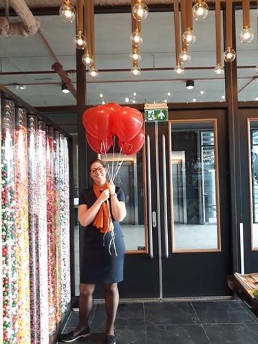 Heliumballonnen Hartballonnen Valentijnsdag Restaurant Vandaag