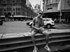 Shirtless (livestoriz) Tags: 28mm blackandwhite ricohgrd4 street walking people sydney georgestreet qvb queenvictoriabuilding candid candidphotography